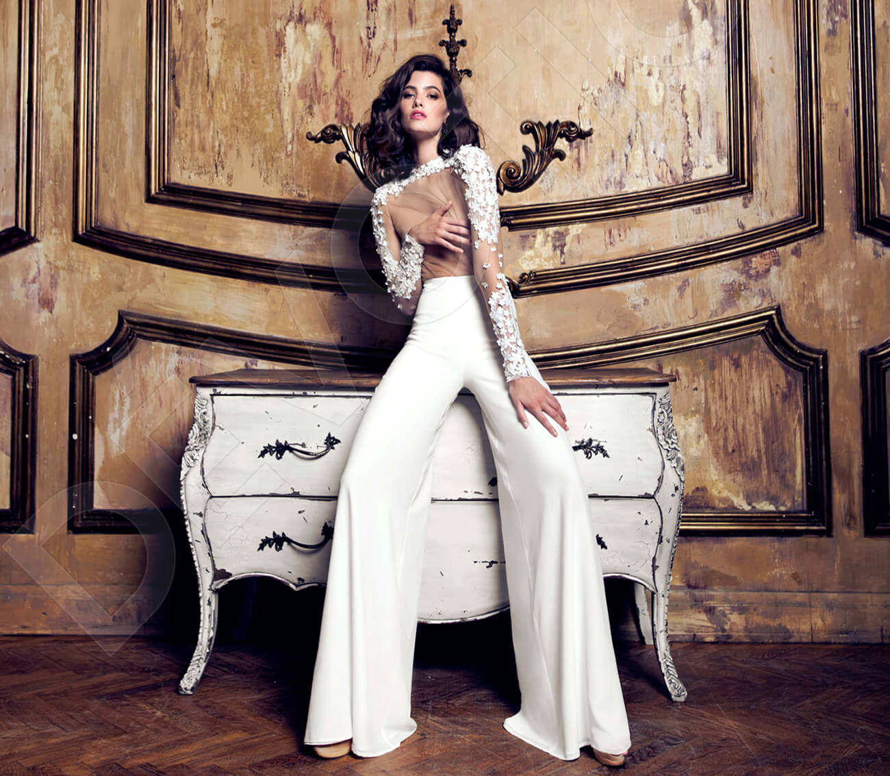 In Love With Bridal Jumpsuits Devotiondresses Com